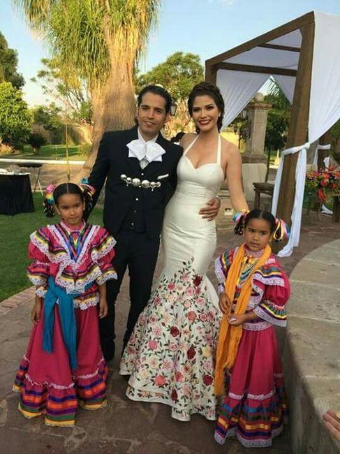 Vestidos de novia regionales