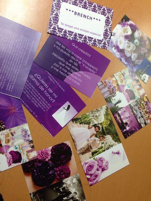 30e8a7530 Invitaciones para damas de honor - Foro Manualidades para bodas - bodas .com.mx