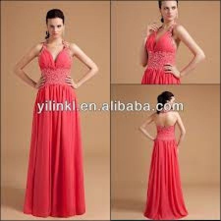 Vestidos para damas de boda color coral