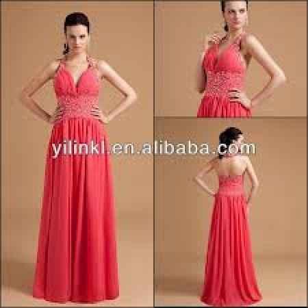 Pasto Colectivo representación  Vestidos largos para las damas de honor en coral :) - Foro Moda Nupcial -  bodas.com.mx