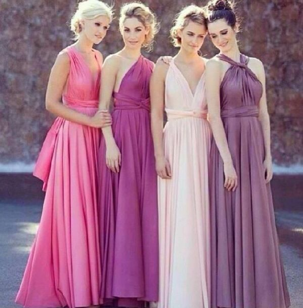Damas multicolor - Foro Organizar una boda - bodas.com.mx