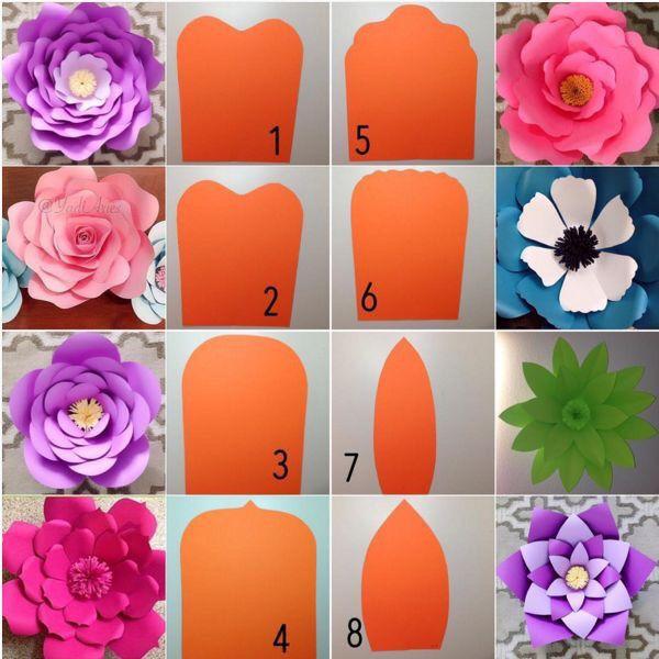 Flores gigantes para decoraci n foro manualidades para bodas - Foro decoracion ...