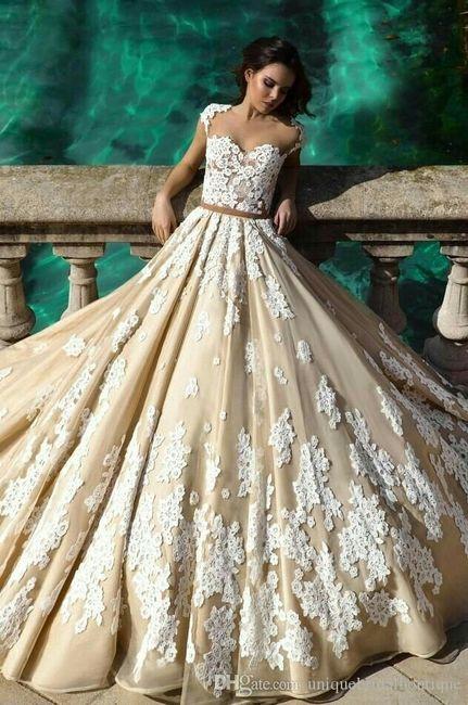 vestidos de novia color champagne 🍾🍾 - foro organizar una boda