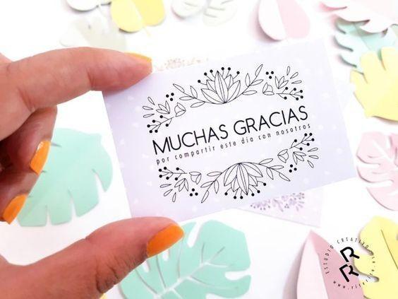 Frases Para Tarjetas De Agradecimiento A Nuestros Invitados