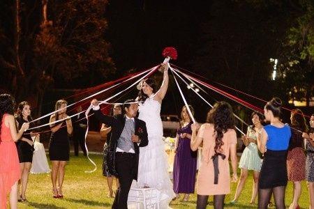 Resultado de imagen de juego del liston para el ramo de novia