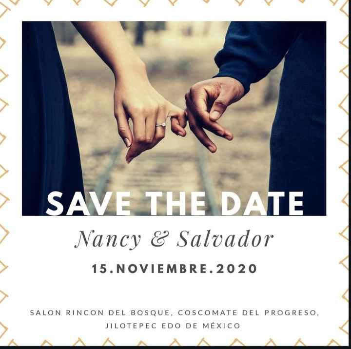Novios que nos casamos el 15 de Noviembre de 2020 en Estado México - 1