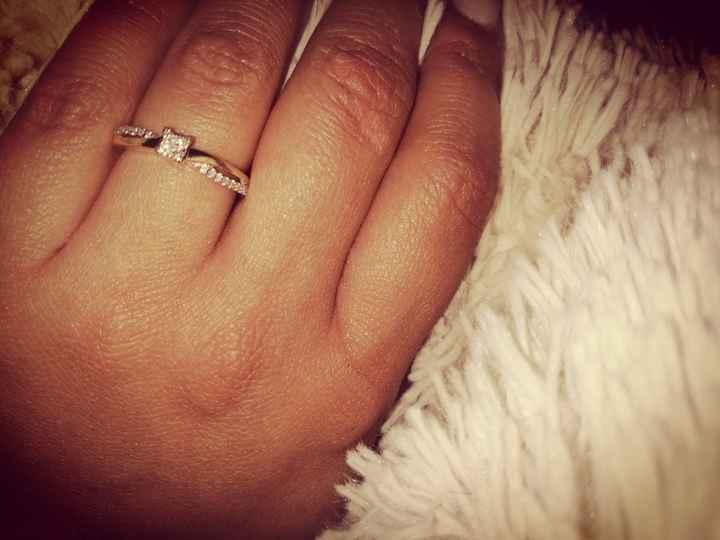 a mostrar el anillo! - 1