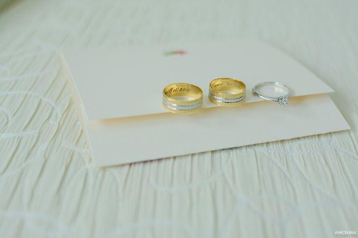 Tu anillo + vuestras argollas - 1
