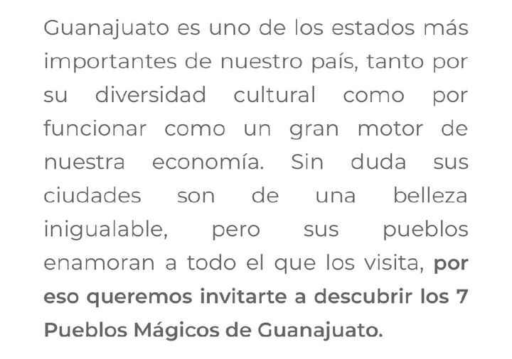 Pueblos mágicos de Guanajuato - 1