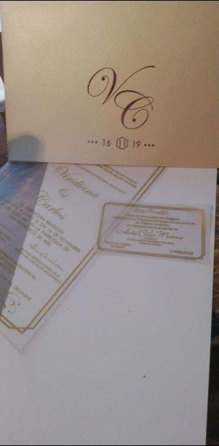 Llegaron las invitaciones 💃🏻!! 5