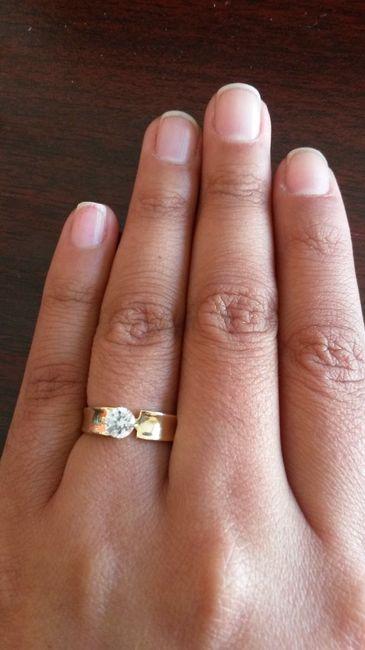 Mi anillo de compromiso me muestran el de ustedes foro - Anillos de compromiso sencillos ...