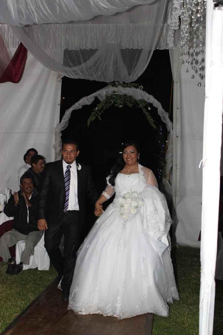 Bienvenida a los recien casados