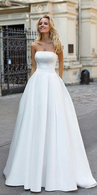 👰vestidos de novia lisos👰 - foro moda nupcial - bodas.mx