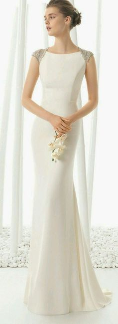 Vestidos de novias lisos