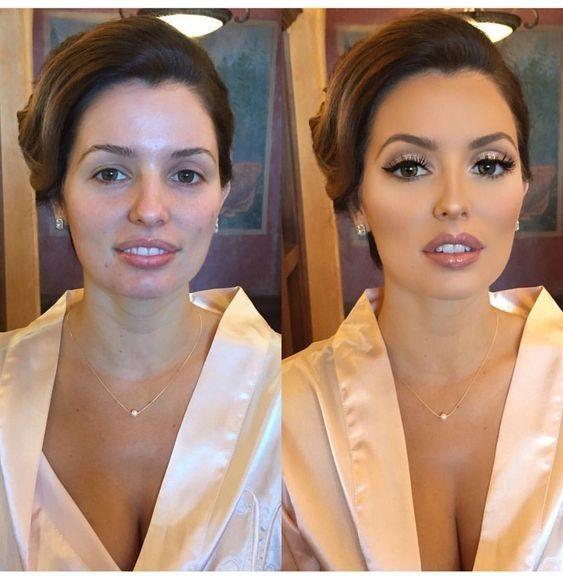 maquillaje para novias: antes y después - foro belleza - bodas.mx