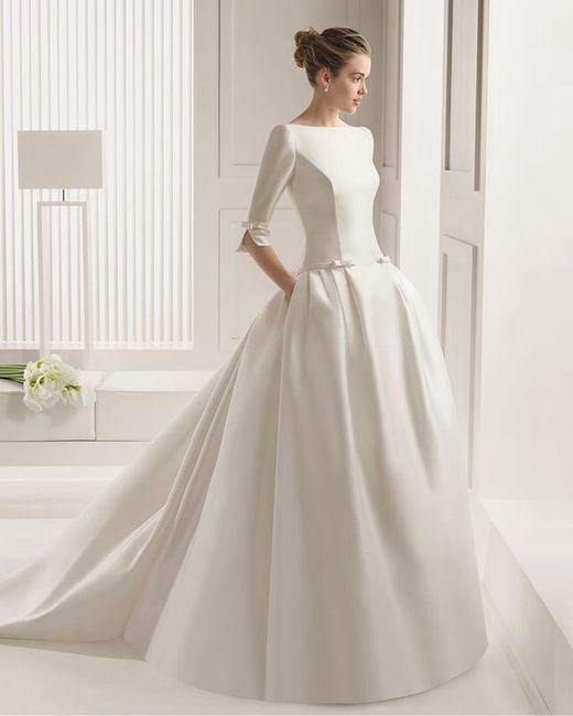 vestidos de novia con bolsillos - foro moda nupcial - bodas.mx