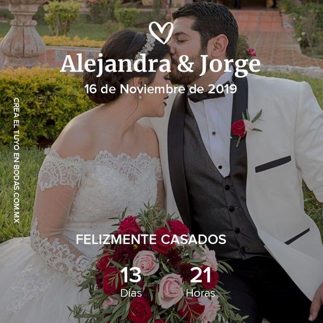 Contador de los ya casados ¿les gustó? 2