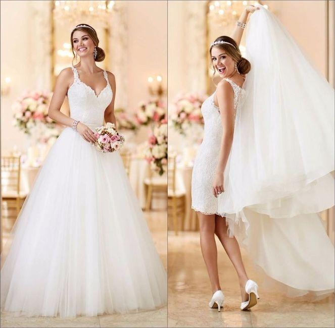 vestidos de novia desmontables? mi travesía con mi vestido - foro