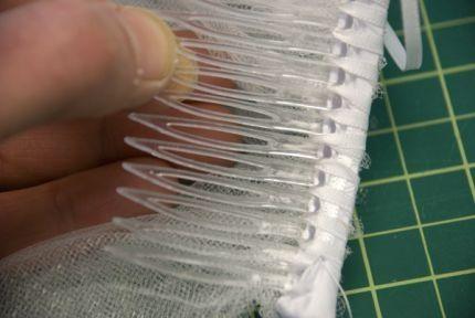 Como hacer un velo de novia 8
