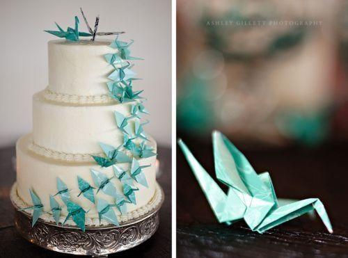Decoracion Origami Bodas ~ pastel origami  Fotos Organizar una boda  Comunidad bodas com mx