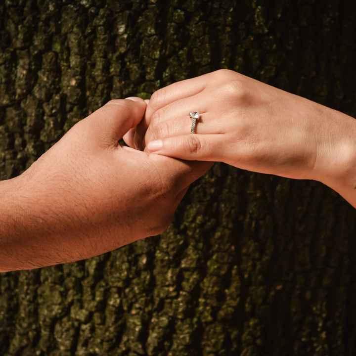Si hubieras podido elegir el anillo de compromiso.. - 1