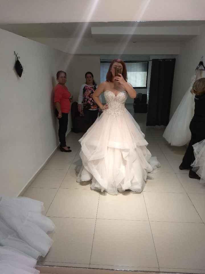 ¿cuánto gastaron en su vestido? - 1