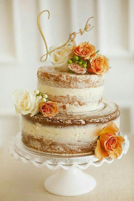 Ideas de pastel estilo naked 26