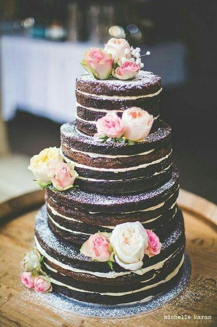 Ideas de pastel estilo naked 27
