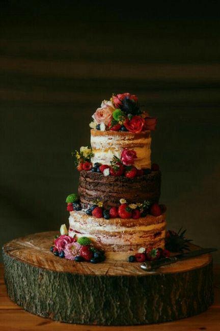 Ideas de pastel estilo naked 33