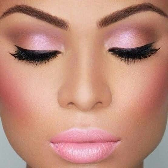 Maquillaje en tonos rosa para el gran día 2