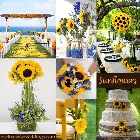 Tu boda en amarillo con girasoles foro organizar una for Bodas en el campo decoracion
