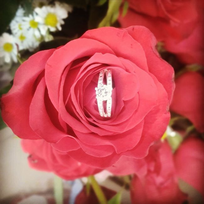 Boda Rosegold: Mi anillo de compromiso y ajuar de novia 7