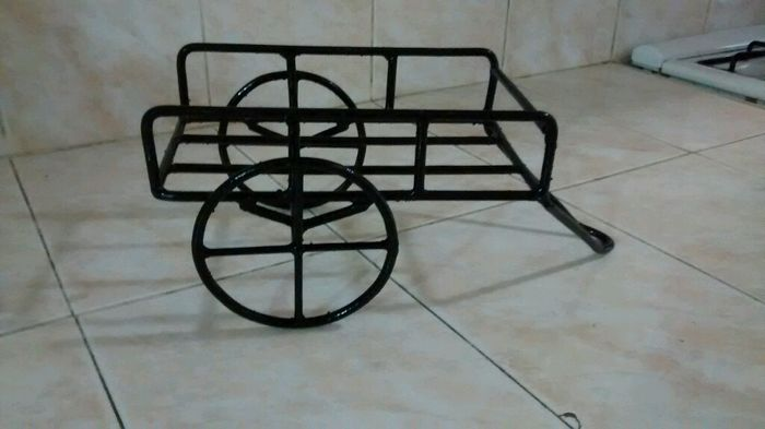 Por fin encontr las bases para los centros de mesa foro for Bases de mesas cromadas