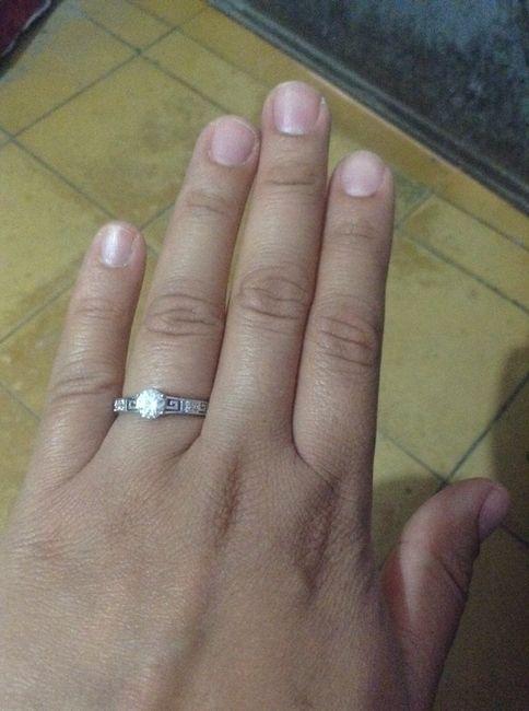 4cf7137540fe Anillo de compromiso y argolla de matrimonio deben combinar   - Foro Antes  de la boda - bodas.com.mx