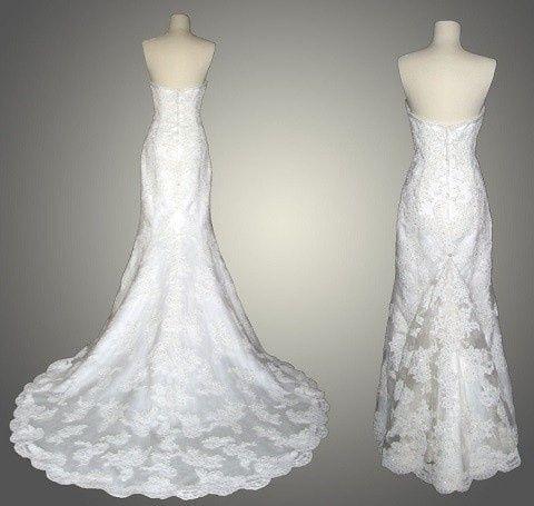 como sujetar la cauda del vestido - foro moda nupcial - bodas.mx