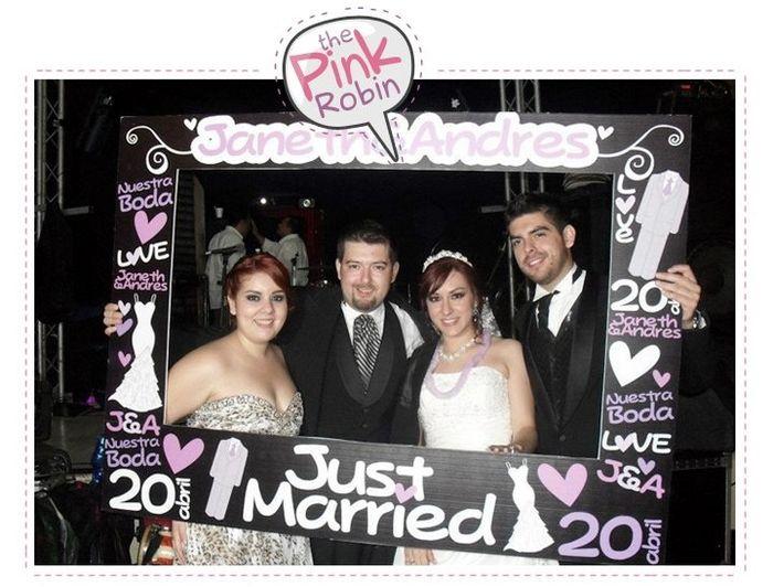 Marco personalizado fotos organizar una boda comunidad - Marcos de plata para bodas ...