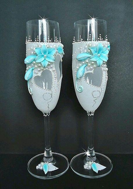 copas y botellas decoradas foro manualidades para bodas. Black Bedroom Furniture Sets. Home Design Ideas