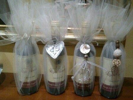 Copas y botellas decoradas - 20