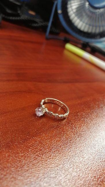 Boda Rosegold: Mi anillo de compromiso y ajuar de novia 1