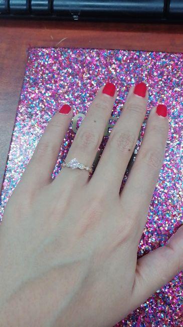 Boda Rosegold: Mi anillo de compromiso y ajuar de novia 2