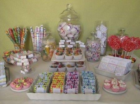 Mesa de postres foro banquetes for Decoracion para mesa dulce