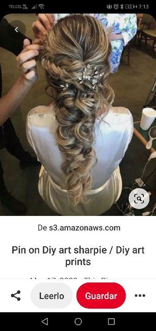 Peinado de novia ¿lo prefieres recogido o suelto? 1