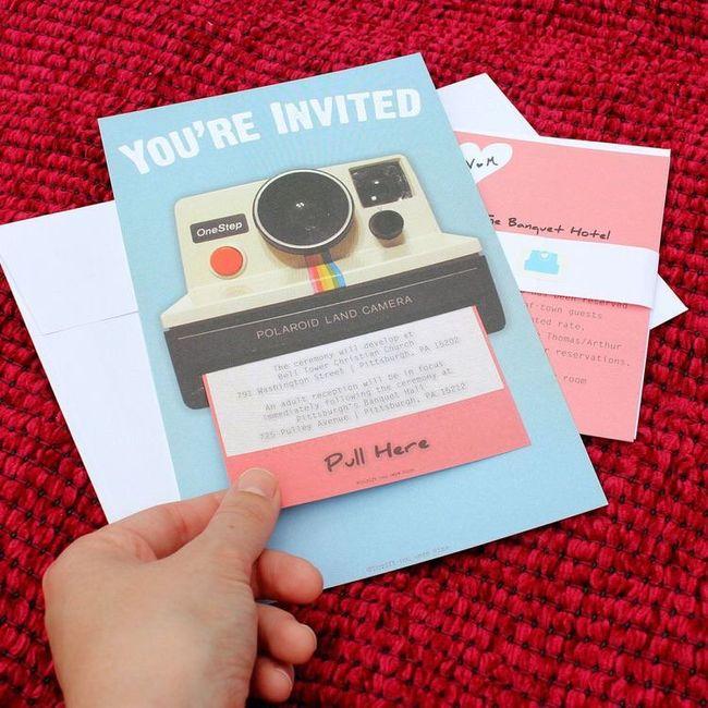 Invitaciones originales 💌 8