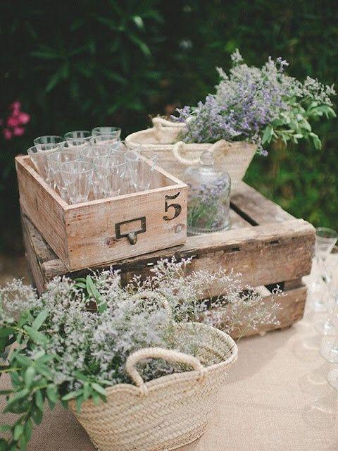 Ideas para decorar con canastitas 🧺 12