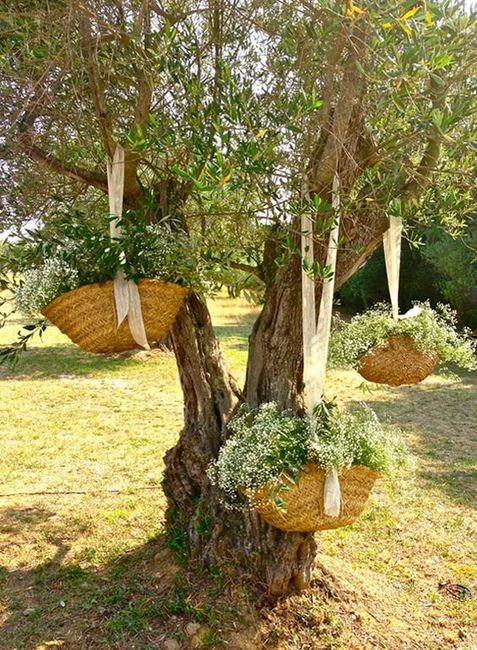 Ideas para decorar con canastitas 🧺 14