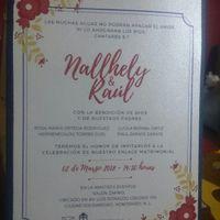 Nuestras invitaciones Raúl y Nallhely - 1
