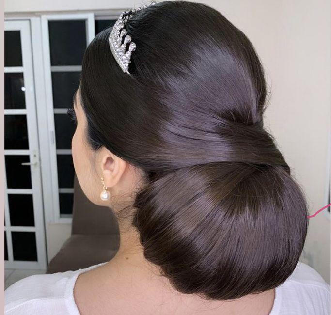 Ideas💡de peinados recogidos👰🏻 6