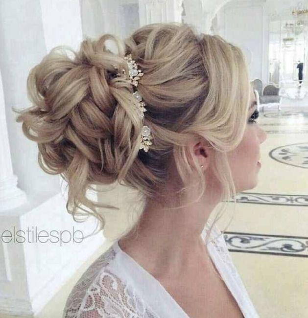 Ideas💡de peinados recogidos👰🏻 8