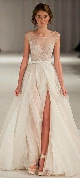 Vestidos de novia civil blanco