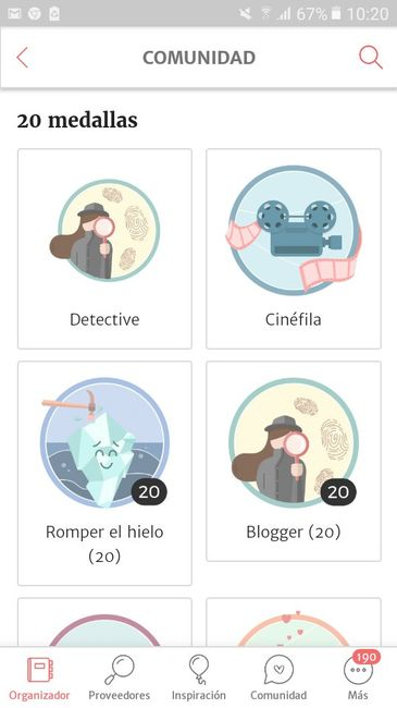 Mi medalla: Detective... 🕵 1